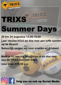 TRIXS Summer Days