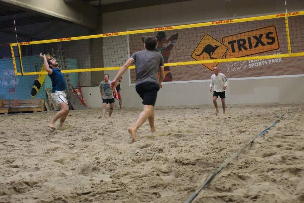 Beachvolleybal les