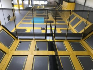 TRIXS Free-jumping (volleyballcourt)
