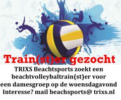 Volleybaltrain(st)er TRIXS