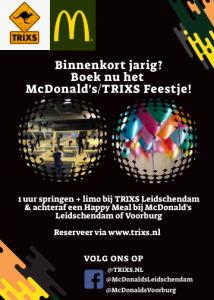 McDonald's/TRIXS feestje