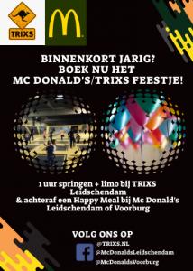 Mc Donald's/TRIXS feestje