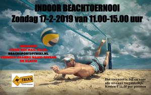 Eerste beachtoernooi 2019