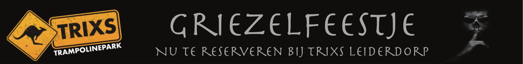 Griezelfeest banner